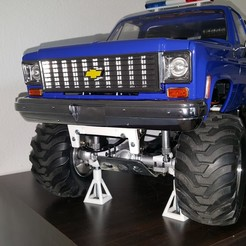 Download 3D printer model HG P407 Tamiya Bruiser RC4WD Chevy Blazer ESS-One, Dr_Knut
