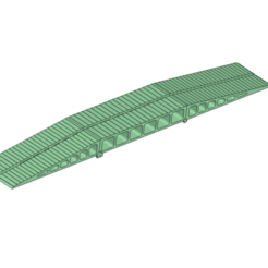 Télécharger plan imprimante 3D Pont mobile RC 600 mm pour chariots écailleurs à chenilles Voitures, Dr_Knut