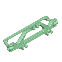 10.png Download STL file Hot-Rod front Axle with Servo and 4 Link Mount 175mm • 3D printer design, Dr_Knut