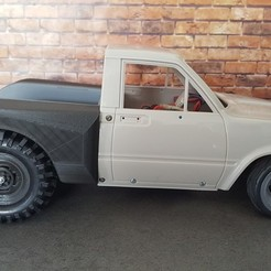 container_wltoys-12428-conversion-kit-v2-for-street-racers-rc4wd-hilux-3d-printing-246933.jpg Download STL file WlToys 12428 conversion kit v2 for street racers / RC4WD Hilux • 3D printable design, Dr_Knut