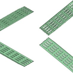"Download STL Crawler Scaler Truck Sandboards ""Element Ramps"" ""TRED Boards"", Dr_Knut"