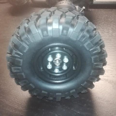 Télécharger modèle 3D Jante de roue, échelle 1/10, chenille de roche RC, vladam