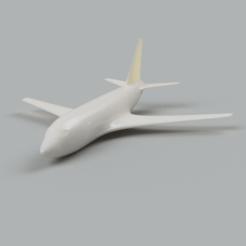 Imprimir en 3D Avión Aeronave Boeing 737, Quality_Art_Factory