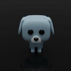 perro31.png Télécharger fichier STL FUNKO POP DOG 3 • Objet à imprimer en 3D, leonespi