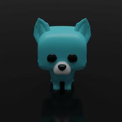 Descargar modelos 3D para imprimir FUNKO POP PERRO 4, leonespi