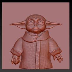 Descargar diseños 3D gratis YODA, aguilarcustoms