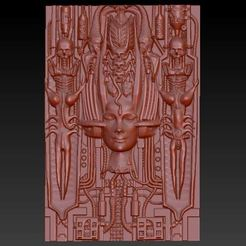 Download free 3D print files HR Giger 2, aguilarcustoms