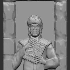 Mad Arab.JPG Download free STL file Mad Arab Abdul Alhazred • 3D printable model, aguilarcustoms
