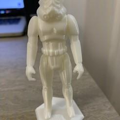 Imprimir en 3D Star-Wars trooper Kenner Style Action figure STL OBJ 3D, manostkd