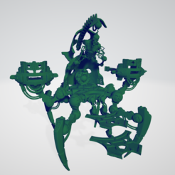 throne1.PNG Download free STL file Throne for mute space king • 3D printer template, pen2