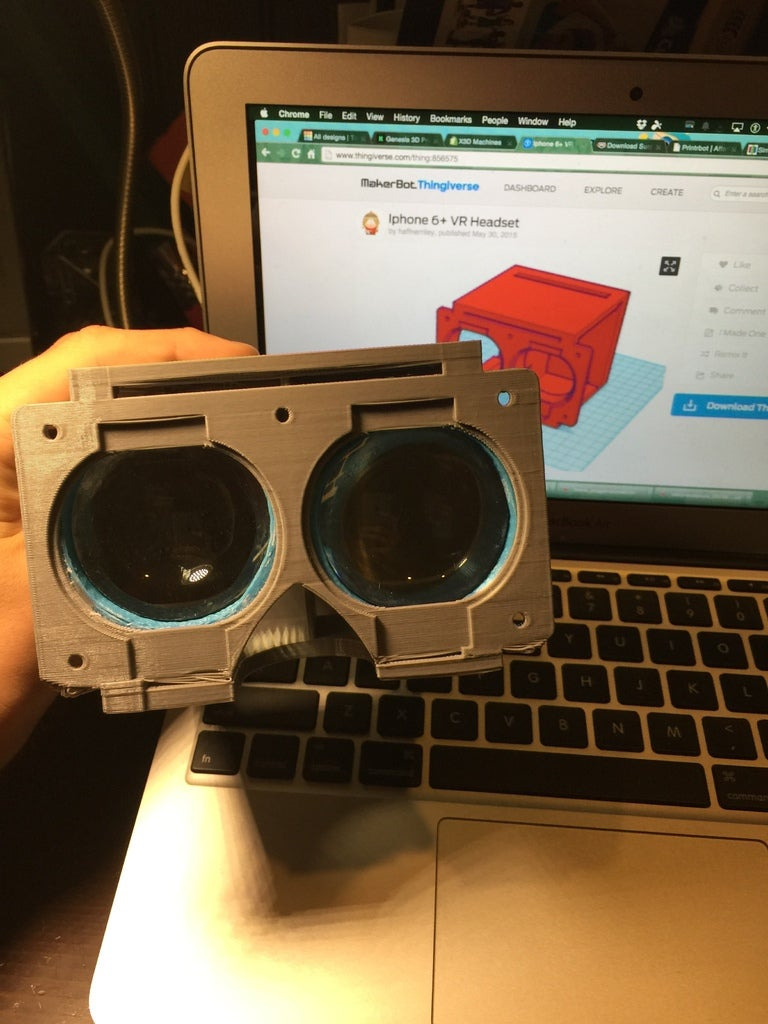 Download Free 3d Printing Models Iphone 6 Vr Headset Cults