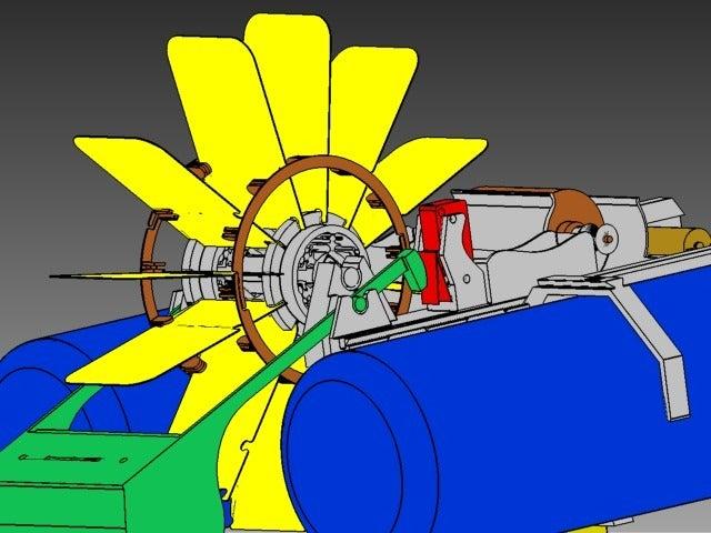 5_display_large.jpg Télécharger fichier STL gratuit Bateau à pagaies • Objet à imprimer en 3D, Pwentey