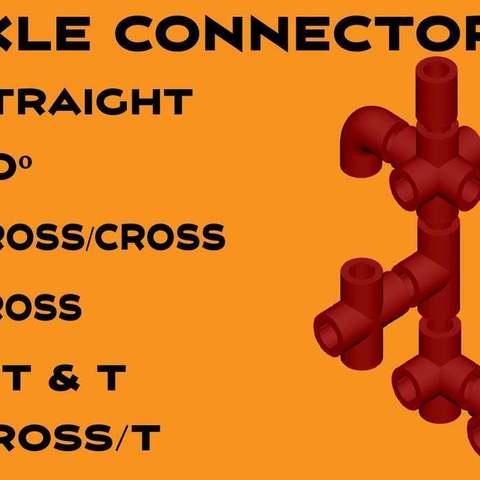 Axle_Connectors-01_display_large.jpg Télécharger fichier STL gratuit MEGA Expansion 200+ Pièces • Plan à imprimer en 3D, Pwentey