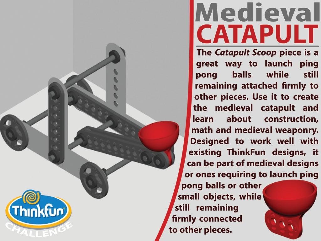 Cover_Catapult-01-01_display_large.jpg Télécharger fichier STL gratuit MACHINES MÉDIÉVALES - Pack d'extension • Plan pour imprimante 3D, Pwentey