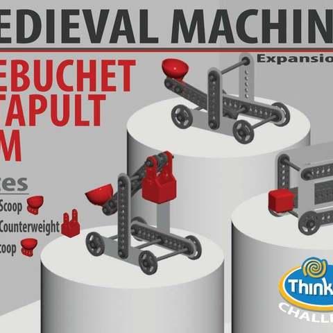 Descargar Modelos 3D para imprimir gratis MÁQUINAS MEDIEVALES - Paquete de expansión, Pwentey