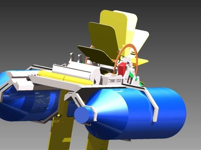 BoatImage3_display_large.jpg Télécharger fichier STL gratuit Bateau à pagaies • Objet à imprimer en 3D, Pwentey