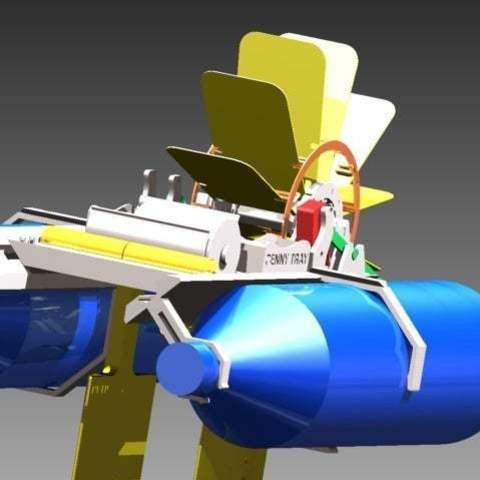 Télécharger fichier impression 3D gratuit Bateau à pagaies, Pwentey
