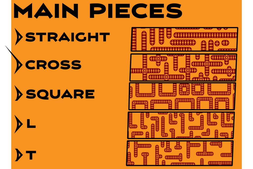 Main_Pieces-01_display_large.jpg Télécharger fichier STL gratuit MEGA Expansion 200+ Pièces • Plan à imprimer en 3D, Pwentey
