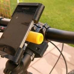 Descargar STL gratis Bicicleta IPhone 4/4S soporte, Pwentey