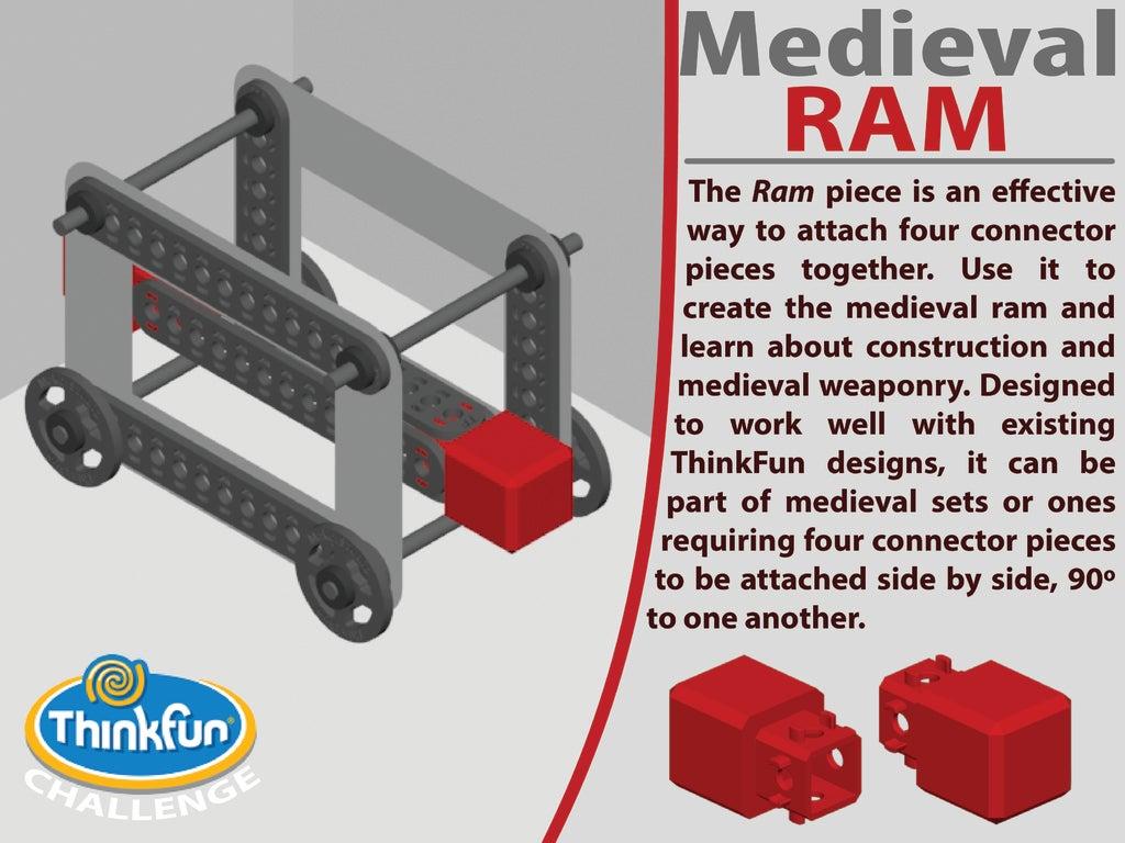 Cover_Ram-01-01_display_large.jpg Télécharger fichier STL gratuit MACHINES MÉDIÉVALES - Pack d'extension • Plan pour imprimante 3D, Pwentey