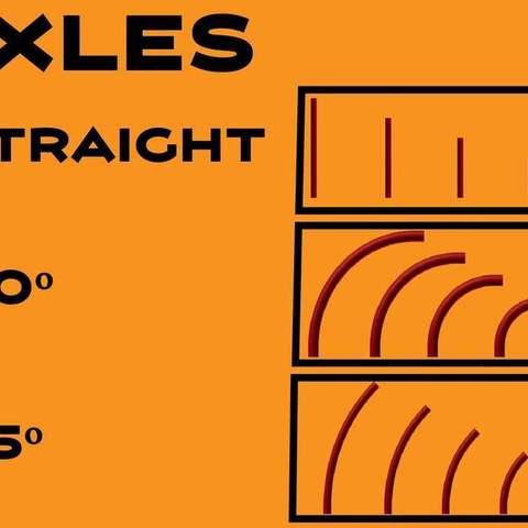 Axles-01_display_large.jpg Télécharger fichier STL gratuit MEGA Expansion 200+ Pièces • Plan à imprimer en 3D, Pwentey