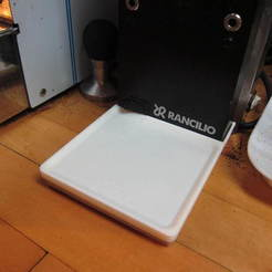 Free 3D printer files Rancilio Rocky Grinder Tray, Pwentey