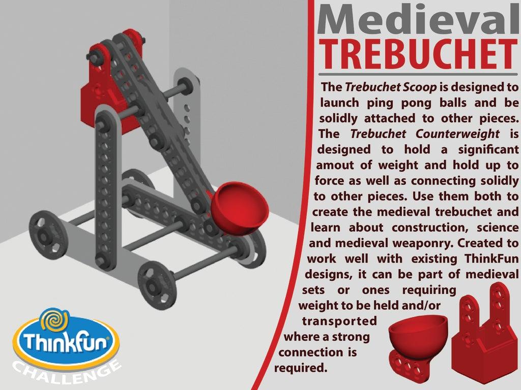 Cover_Trebuchet-01-01_display_large.jpg Télécharger fichier STL gratuit MACHINES MÉDIÉVALES - Pack d'extension • Plan pour imprimante 3D, Pwentey