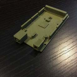 IMG_1017_display_large.JPG Download free STL file Arduino Mega • 3D printing template, Pwentey