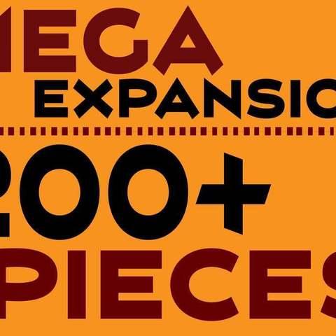 MEGA Expansion 200+ Pieces