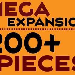 Main-01_display_large.jpg Télécharger fichier STL gratuit MEGA Expansion 200+ Pièces • Plan à imprimer en 3D, Pwentey