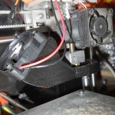 Impresiones 3D gratis Refrigerador de piezas para carro X de aluminio, Pwentey