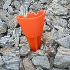 Télécharger fichier impression 3D gratuit Cendrier de plage portatif, Pwentey