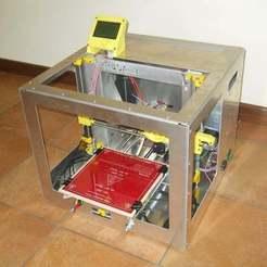 Télécharger fichier 3D gratuit Prusa i3 AluboX, Pwentey