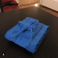 Free 3D print files WW2 Tank, Pwentey
