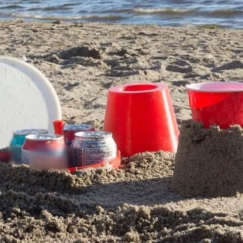 Télécharger fichier imprimante 3D gratuit Glacières et porte-boissons Castle, Pwentey