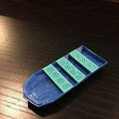 Descargar modelos 3D gratis Barco Low-Poly, Pwentey
