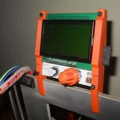 Descargar archivo 3D gratis Cubierta frontal para un fácil montaje completo y gráfico del controlador LCD inteligente, Pwentey
