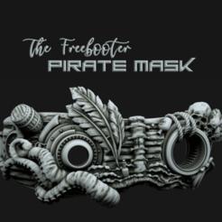 Télécharger fichier 3D Masque de pirate, polygonface