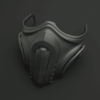 Download 3D print files Mask cover mask - COVID - type 2, polygonface