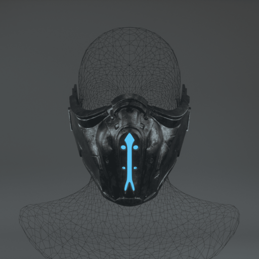Download Stl File Sub Zero Mask Object To 3d Print Cults