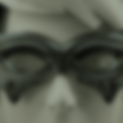 Download 3D printing files Carnival Mask, polygonface