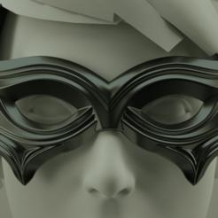 Descargar modelo 3D Máscara de Carnaval, polygonface