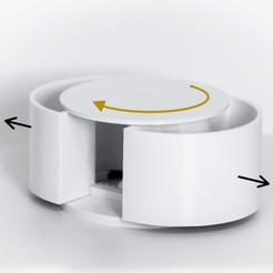 Descargar archivos STL gratis Contenedor mecánico refrigerado de la balconera, PlasticBarista