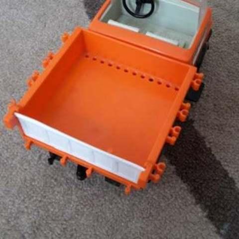 Télécharger modèle 3D gratuit Playmobil Remplacement de la porte du chargeur de camions, Lurgmog