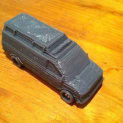 Download free 3D printing templates Ambulance toy, Lurgmog