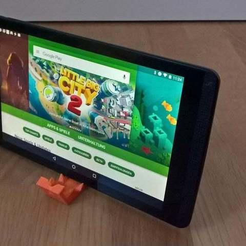 Download free 3D printer model Nvidia Shield Tablet Stand, Lurgmog
