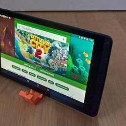 Free 3D printer model Nvidia Shield Tablet Stand, Lurgmog