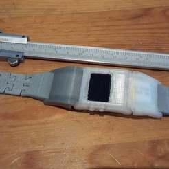 Download free 3D printer templates Tinyduino slim watch, Lurgmog