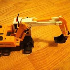 Download free 3D printing models Toy Digger Replacement parts, Lurgmog