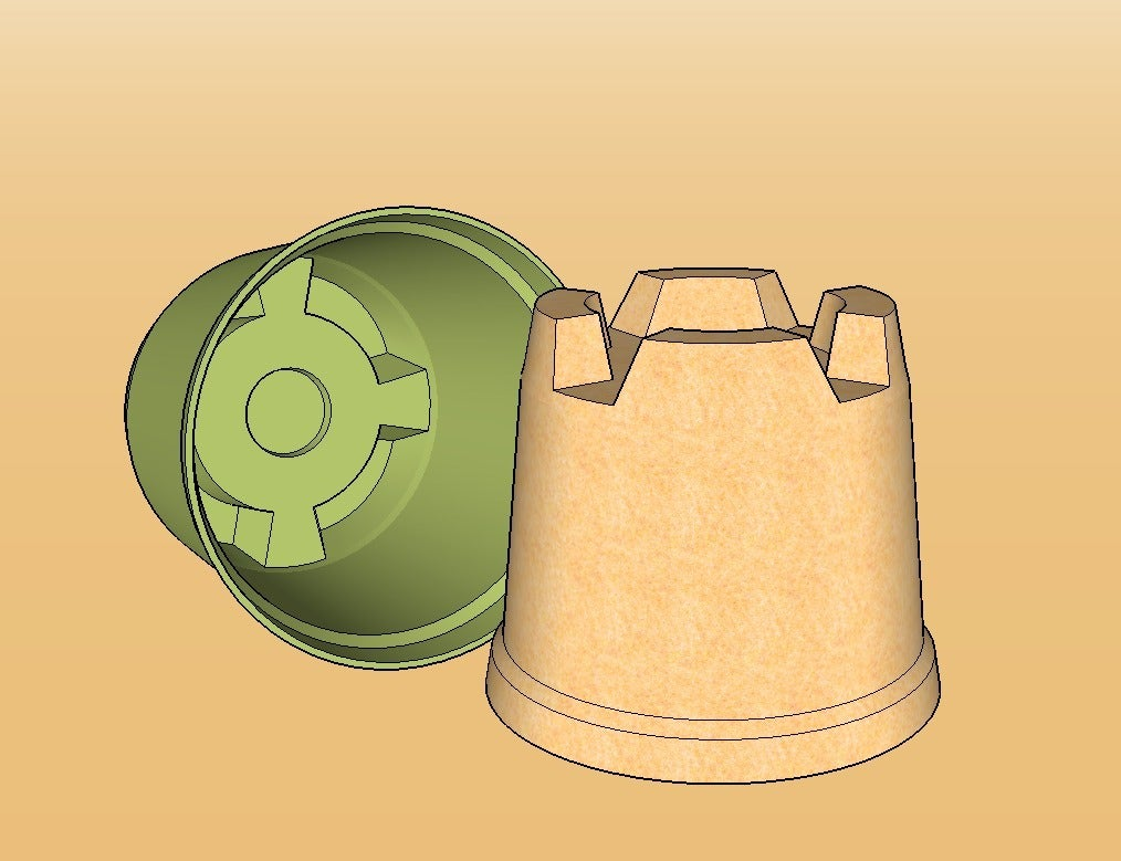 Tower_display_large.jpg Download free STL file Ultimate Sandcastle Kit • 3D printable model, Lurgmog